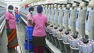 Indische Textilarbeiterinnen © Cividep