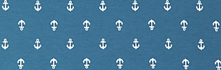 capri camping pants, be my little anchor, Stoffhosen, Blau