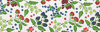 groovemistress tee, berry friends, Kurzarm, Weiß