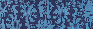 mistress baroque catching loop, blue story, Schals & Mützen, Blau