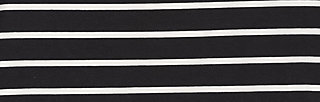 logo stripe skirt, club stripe, Röcke, Schwarz