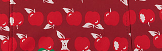 sweethearts washbag, eat the apple, Accessoires, Rot