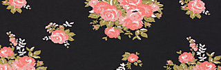 true romance robe , flower for power, Dresses, Black