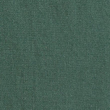 green denim
