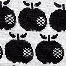 knit black apple