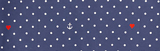 the beauty of the east coat, love the anchor dot, Jackets & Coats, Blue