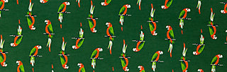 flamingo bingo dress, parrot parody, Kleider, Grün