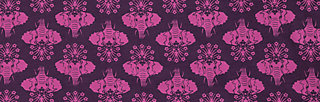 Jersey T-Shirt the blousy, pink elephants, Shirts, Purple