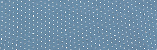 hasta mañana tee, sea of dots, Kurzarm, Blau