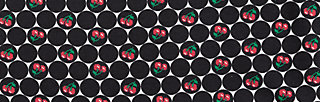 savoir vivre longsie, super cherry dot, Shirts, Black