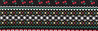 superpower skirt, super pixel bordure, Skirts, Black