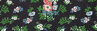 single jersey fabric, vagabund flowers, Accessoires, Schwarz