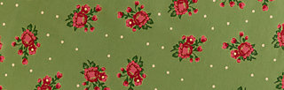single jersey fabric, valley rose, Accessoires, Green