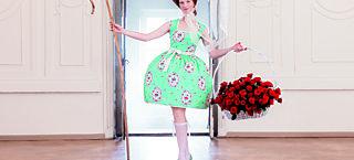 pompadour mon amour dress
