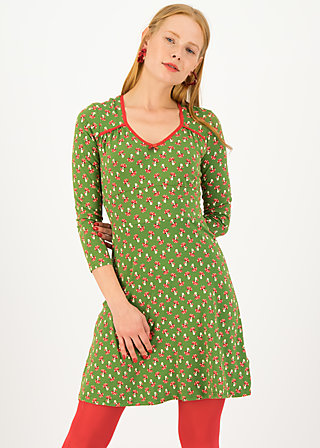 Jersey Dress diamond heart, misch mush, Dresses, Green