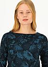 Longsleeve flow slow, romantic review, Shirts, Blue