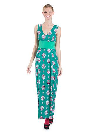 fine finesse gown, bouquets of love, Jerseykleider, Grün