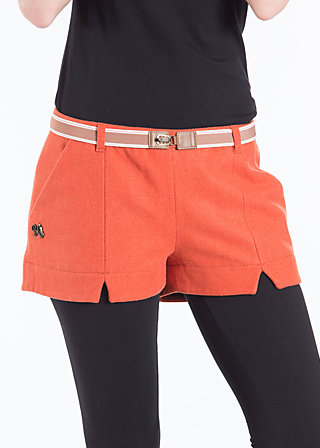 short break pants, bureau red, Rot