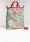 beautiful from inside bag, golden tapestry, Shopper & Rucksäcke, Braun