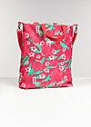beautiful from inside bag, happy garden, Shopper & Rucksäcke, Rot