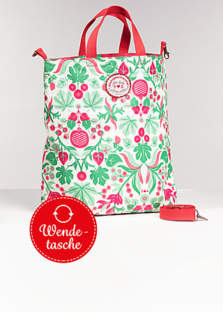 beautiful from inside bag, happy garden, Shopper Bags & Backpacks, Rot