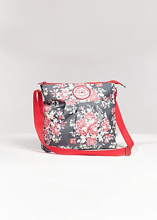 huge heart bag, fairytale bloom, Handbags, Grau