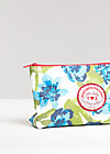sweethearts washbag, exotic flower, Kosmetiktaschen, Blau