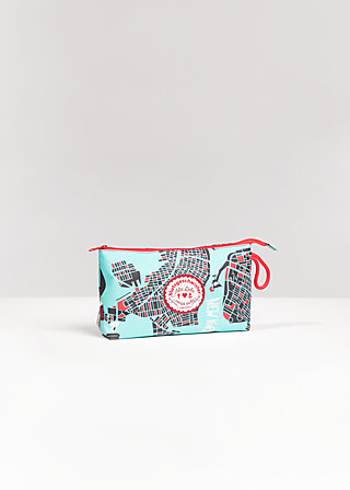 sweethearts washbag, new york, Kosmetiktaschen, Blau