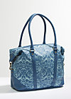 travel fever carpetbag, wild wind rose, Reisetaschen, Blau