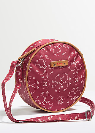 love is all around handbag, royal dishes, Handtaschen, Rot