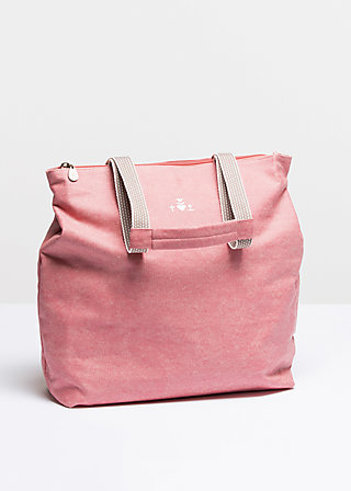 kötbullar shopper, falun rose, Handtaschen, Rot