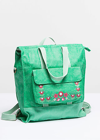 lucias lovely carryall, fen green, Reisetaschen, Grün