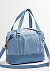polarlight handbag, faded denim, Handtaschen, Blau