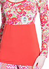 balletic chouchou, flower ocean, Shirts, Rot