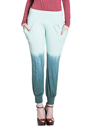 lovely hula hips pants, morning dew, Hosen, Blau