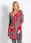 heat my heart dress, fairy tale tartan, Kleider, Rot