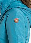 twirling tzaritza short jacket, foggy lakeside, Jacken & Mäntel, Blau