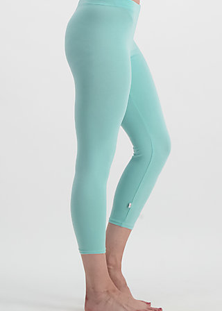 3/4 logo legs uni, blue river, Leggings, Blau