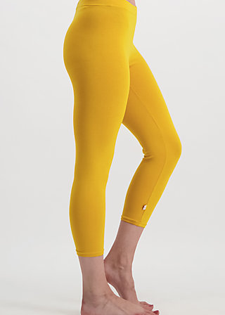 3/4 logo legs uni, golden lantern, Leggings, Yellow