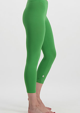 3/4 logo legs uni, green light, Leggings, Grün