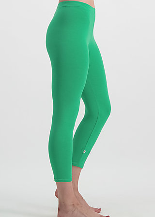 3/4 logo legs uni, green street, Leggings, Green