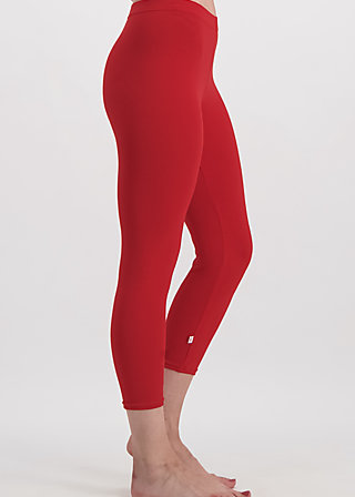 3/4 logo legs uni, red light, Leggings, Rot