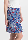 alltagsfalter skirt, big city life, Röcke, Blau