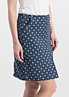 alltagsfalter skirt, little tea towel, Skirts, Blue
