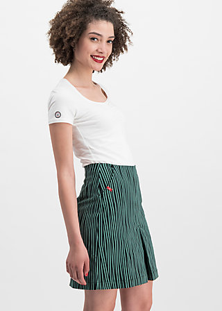 alltagsfalter skirt, punk the stripe, Skirts, Green