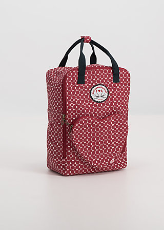 big lovepack, go red, Shopper & Rucksäcke, Rot