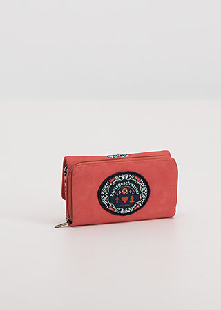 buy the right things purse, coral leather, Accessoires, Rot