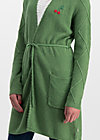 cherry lady cardycoat, folk cherry, Jumpers & lightweight Jackets, Green
