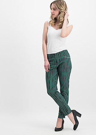 chouchou de paris cigarette, punk the stripe, Trousers, Green