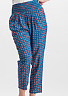 daydream streetlife pants, city roses, Stoffhosen, Blau
